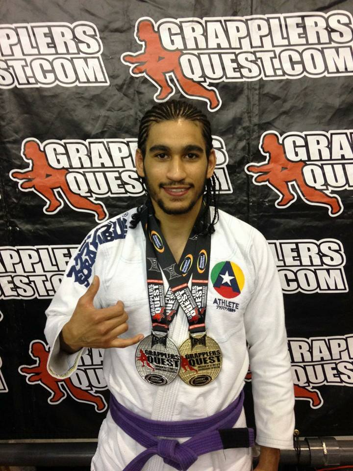 Eddie Aponte Winning at Grapplers Quest
